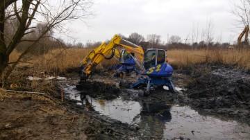 Oczyszczanie stawów wodnych